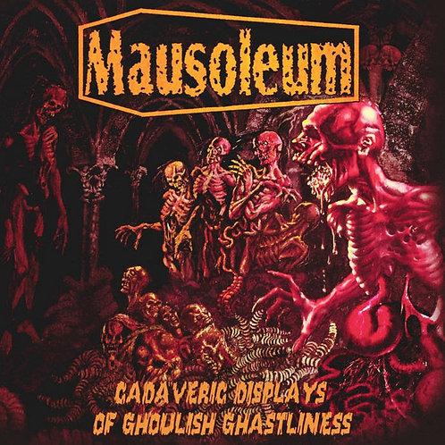 Mausoleum - Cadaveric Displays of Ghoulish Ghastliness LP (White Marble Vinyl)