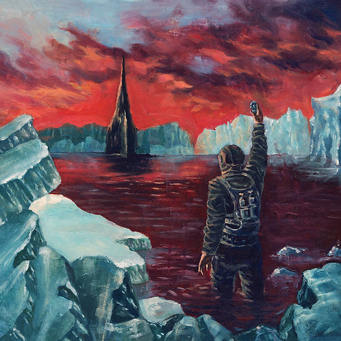 Cryptic Shift -   Visitations From Enceladus LP