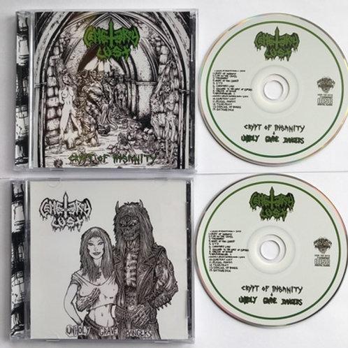 Cemetery Lust - Crypt of Insanity/Unholy Gravebangers  CD