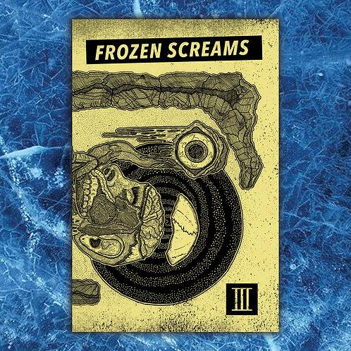 Frozen Screams - Vol III. Zine(Yellow Decay cover)