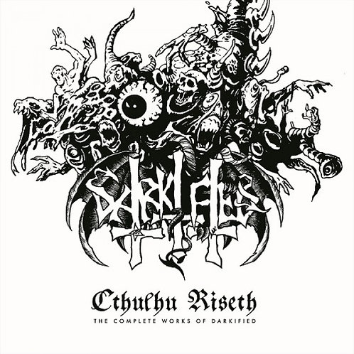 "Darkified - Cthulhu Riseth - The Complete Works Of Darkified 12""LP (White Vinyl)"