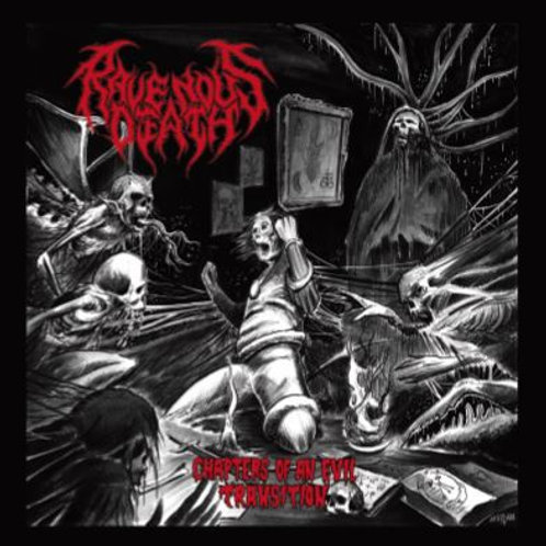 Ravenous Death - Chapters of an Evil Transition CD