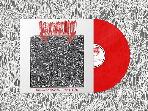 "Phobophilic - Undimensioned Identities 12"" mLP (Red Vinyl Edition)"