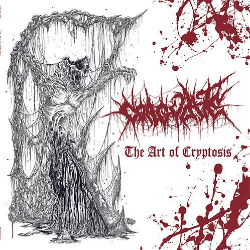 """Coagulate - The Art of Cryptosis 12"""" LP (White/Red Splatter Vinyl)"""
