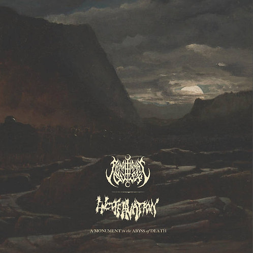 "Sempiternal Dusk/Encoffination - A Monument to the Abyss of Death 12"" LP"