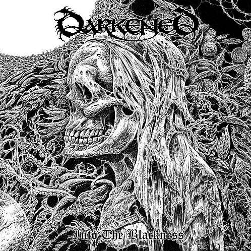 "Darkened - Into the Blackness 10"" (Black Vinyl)"