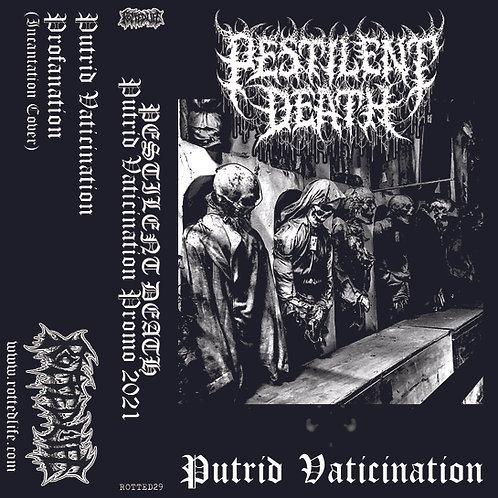Pestilent Death - Putrid Vaticination Promo CS