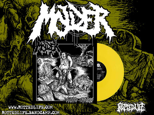 Molder - Vanished Cadavers LP (Yellow Vinyl)