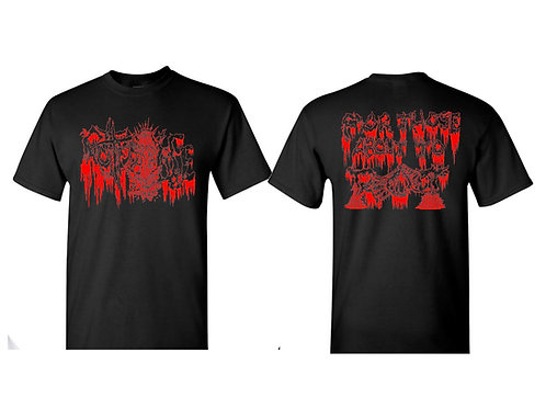 Rotted Life - For Those About to Rot Black XL T-Shirt