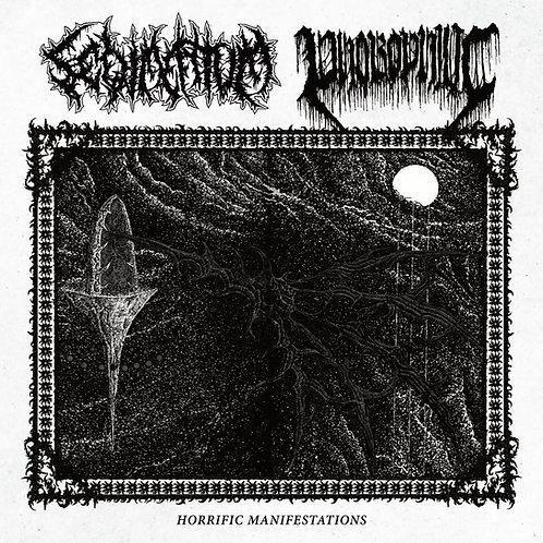 "Sedimentum/Phobophilic - Horrific Manifestation 7"" Black Vinyl"