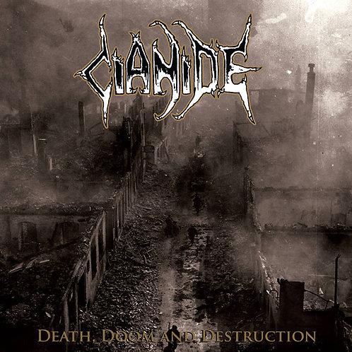 Cianide - Death, Doom, and Destruction CS