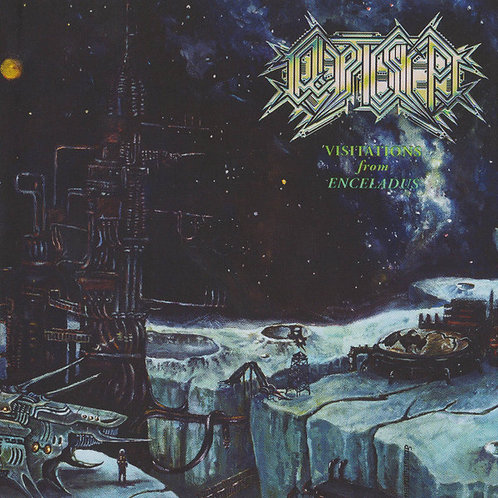 Cryptic Shift -   Visitations From Enceladus CD