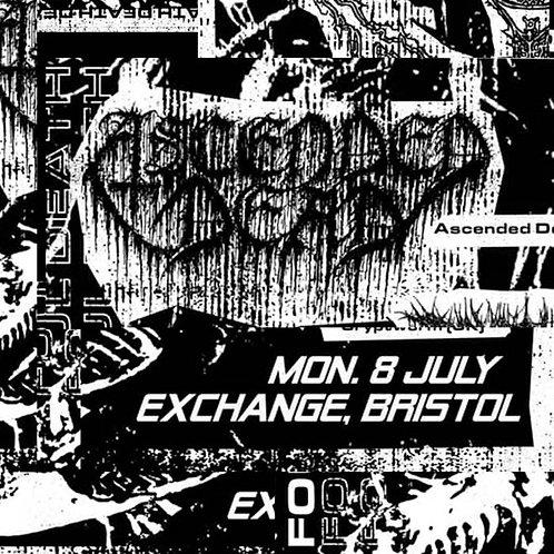 Ascended Dead - Live in Bristol 07/08/2019 CS