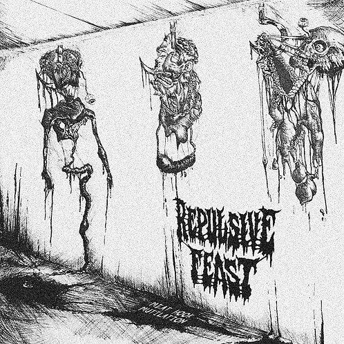 "Repulsive Feast - Meat Hook Mutilation 7"""
