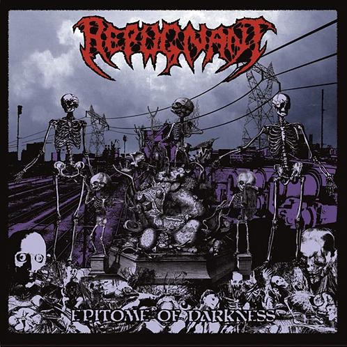 Repugnant - Epitome of Darkness LP (Transparent Red Vinyl)