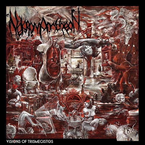 Nekromantheon - The Visions of Trismegistos LP (Oxblood/Silver Vinyl)