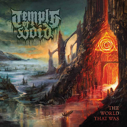 Temple of Void - The World That Was LP (Orange/Blue Schism Vinyl)