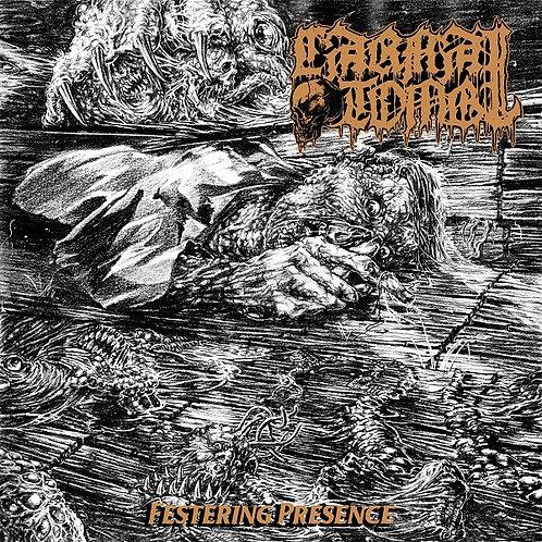 "Carnal Tomb - Festering Presence 7"""