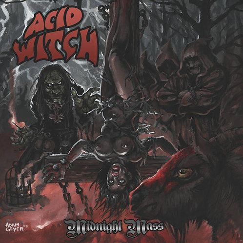 "Acid witch - Midnight Mass 7"" (Geyser Edition)"