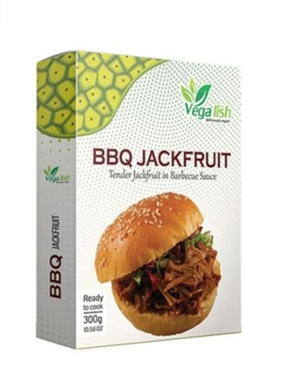 Vegalish Shredded Jackfruit • BBQ 300g