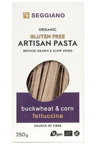 Seggiano Gluten Free Pasta - Buckwheat & Corn Fettuccine 250g