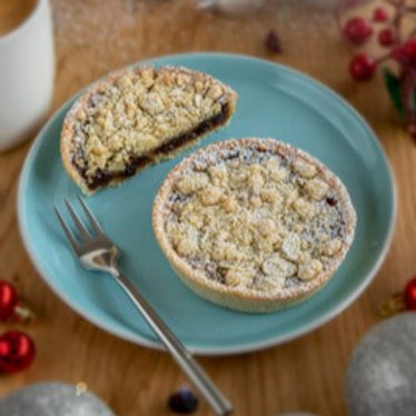 4 x Nutty Crumble Topped Mince Pies 160g