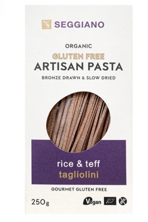Seggiano Gluten Free Artisan Pasta - Rice & Teff Taglioni 250g