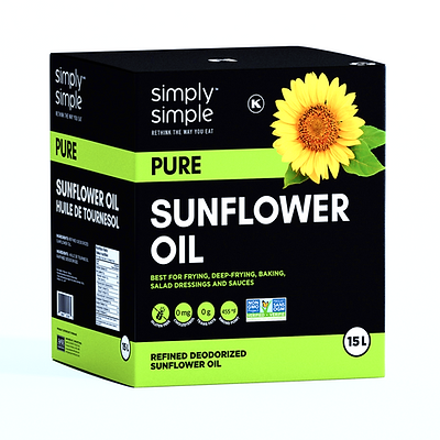 Simply Simple Pure Sunflower Oil 15L (BI