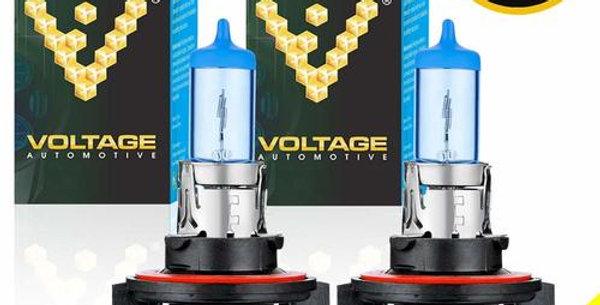 9008 H13 Polarize White Headlight Bulb (Pair)