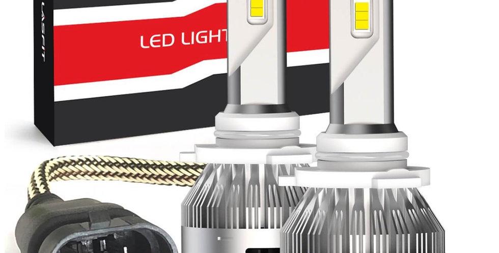 LA Plus Series 9005 HB3 LED Fog Light 72W 7600LM 6000K Amplified Flux Beam