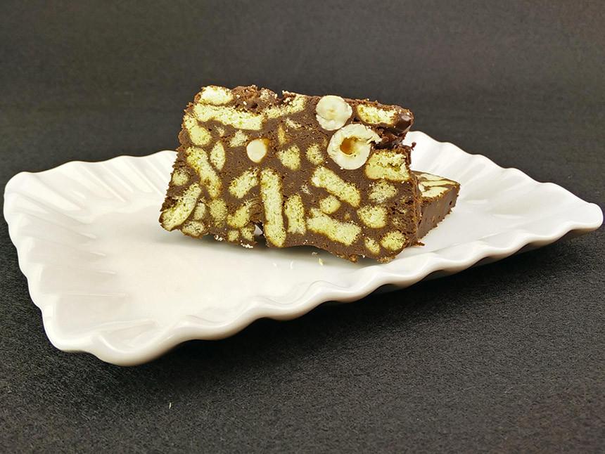 Salame di cioccolato - SENZA GLUTINE