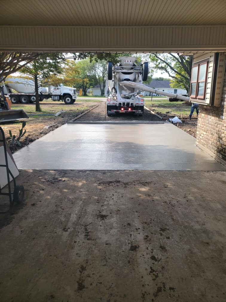 PATIO, PARKING, & HORSE BARN PROJECT
