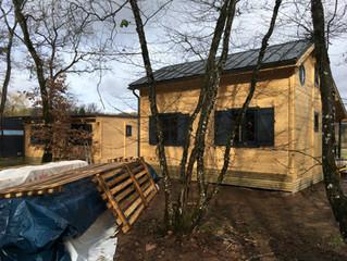 chalet 35 m² ENJOY avec, pour la première fois, un toit plat