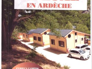 LA PRESSE EN PARLE : des chalets de luxe en Ardèche by  Transylvanie habitat