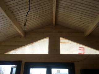 Le chalet ENJOY 35 M² avec un toit double pentes 40 %