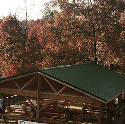What a great space to hang out and enjoy the beautiful autumn color! Come stay on the farm and take