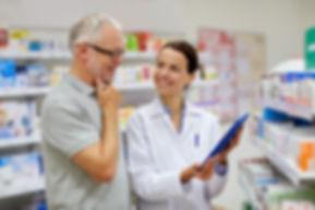 Pharmacy staff adding vaue to customers