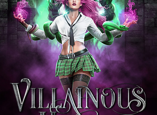 Cover Reveal: Villainous Hearts