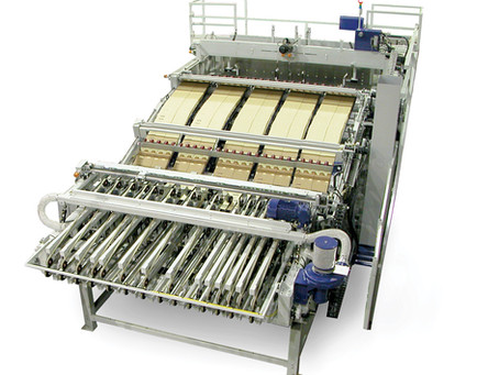 Stackers for Corrugated Rotary Die Cutting Lines Keep the Pace