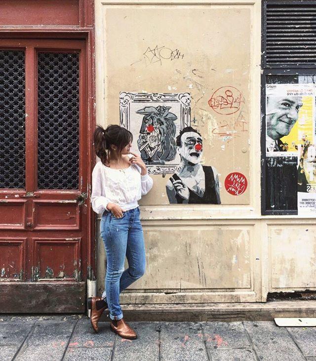 Loka do dia #pfw #paris 📸_biaperotti