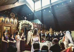 Barbara 💛 Menelaus #greekwedding #NYC #