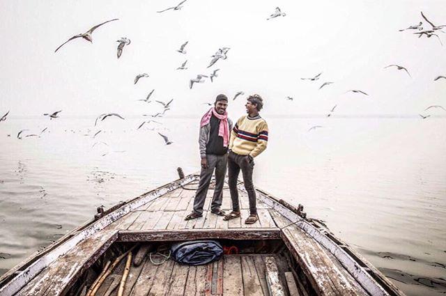 🌬Plenitude 🕊#gangariver #varanasi #india #fredoom #ganges