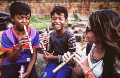 🎼 Cambodian Smiles 💙 #cambodia #people
