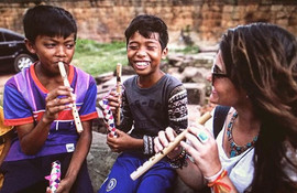 🎼 Cambodian Smiles 💙 #cambodia #people