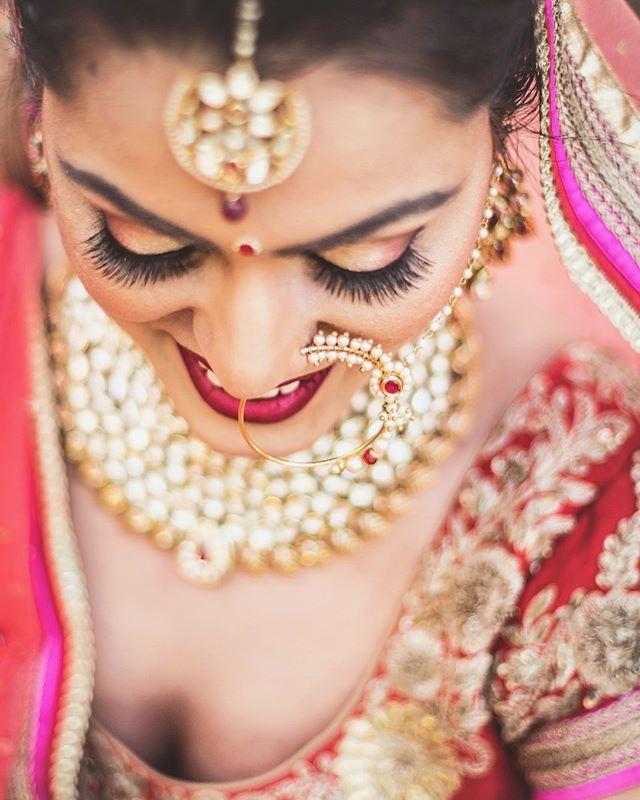 ✨Beautiful Simran ✨#indianwedding #delhi #studiolauracampanella #portrait #natgeo