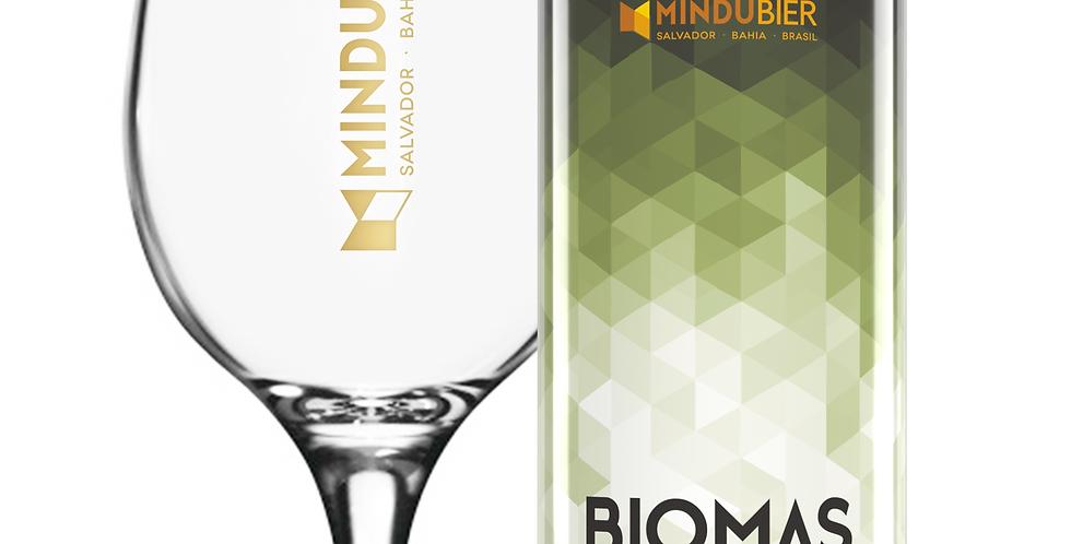Kit Taça + Biomas (Imp. Sour com goiaba, licuri, laranja e baunilha) com 5% OFF!