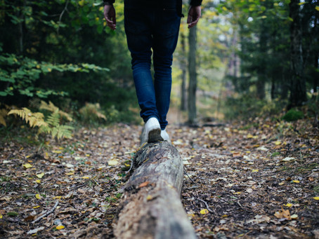 How to retain balance in difficult times