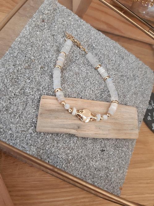 bracelet Cléopâtre pierre de lune