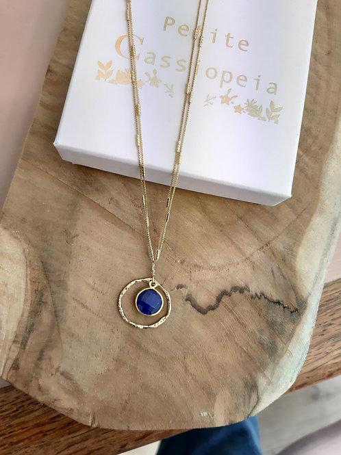 Collier TRESOR lapis lazuli