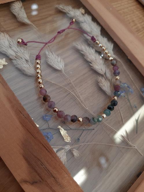 Bracelet élégance tourmaline